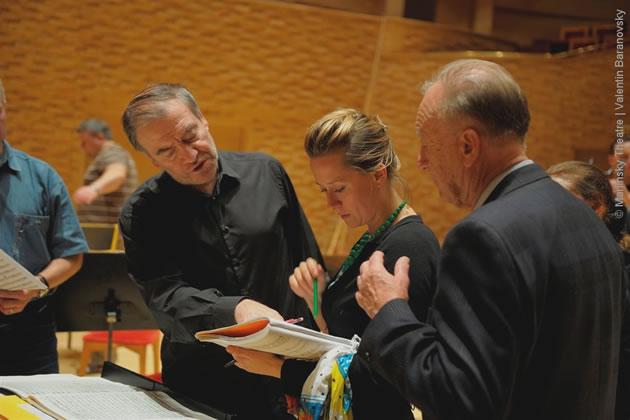 Valery Gergiev, Anika Vavić and Rodion Shchedrin